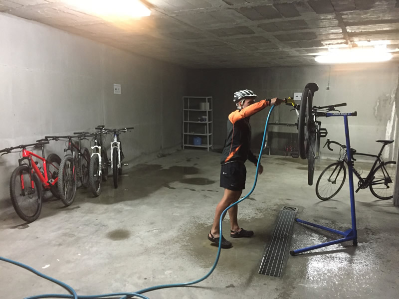 Guarda bicicletas
